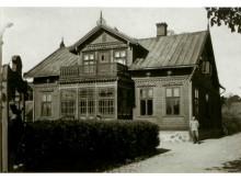Namas, kuriame nuo XX a. 4 deš. pradžios iki 1944 m. gyveno Palangos burmistras (1933-1940) Jonas Šliūpas. 1916-1917 m. / Lietuvos nacionalinis muziejus.