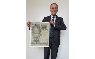 """Nustebino dar neregėtas dokumentas: """"Dar kartą paliudyta, jog 1913 metais ėmė veikti ir gimnazija"""""""