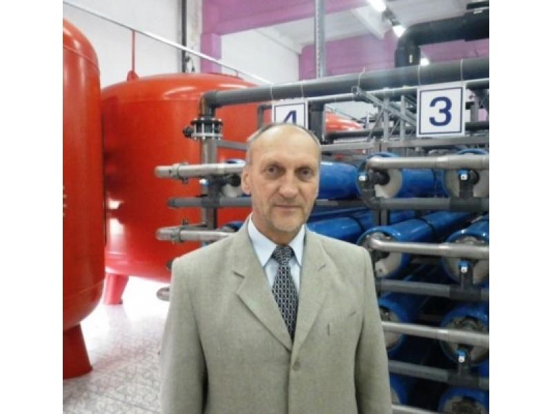 """UAB """"Palangos vandenys"""" direktorius Pranas Madzajus vadovauja įmonei jau  11 metų."""