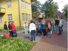 """Rugsėjo 11-13 d. pažintiniu turu """"Tiškevičių bulvaras"""" praėjo 848 moksleiviai."""
