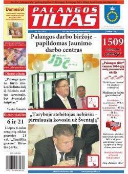 Palangos tilto laikraštis, Data: 2013-07-04, Numeris: 50 (1191)