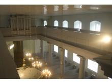 Prie bažnyčios vertingųjų  savybių priskiriamos ir patalpų architektūrinės detalės. / A. Sendrausko nuotr.