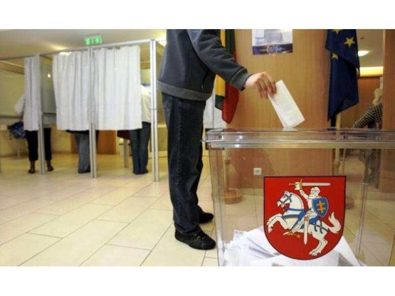Seimo rinkimai- Spalio 9-ąją
