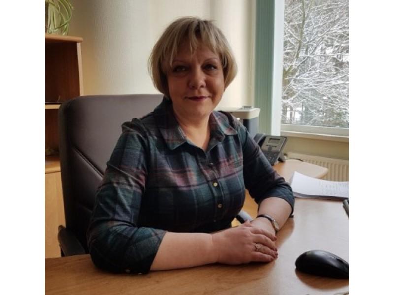 """UAB """"Palangos šilumos tinklai"""" direktorė Giedrė Juršėnė."""