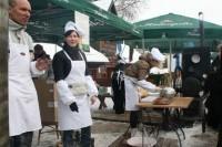 Surakinusi Baltiją speiguota žiema verčia stintų dairytis Kuršių mariose