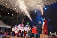 Nušvitusi Kalėdų eglė kviečia pasitikti didžiąsias metų šventes