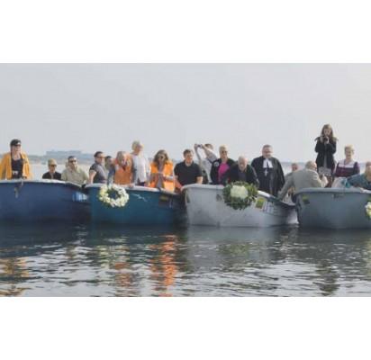 Pakvietusi į Baltų vienybės ir Jūros šventę Šventoji prisiminė ir žuvusius žvejus bei jūrininkus