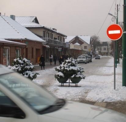 Politikui nepavyko teismui įrodyti automobilių eismo Senojo turgaus gatvėje būtinybės