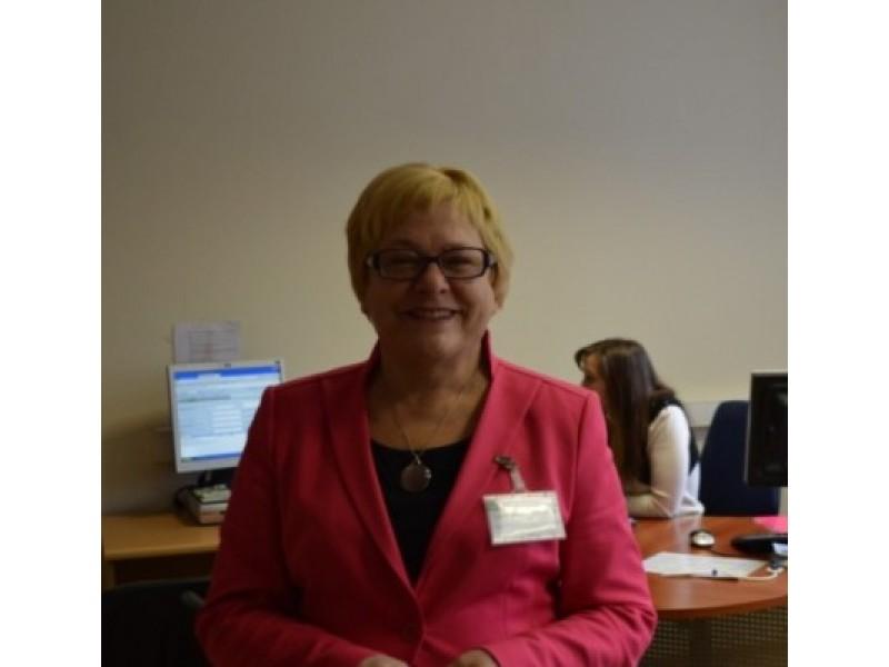 Klaipėdos apskrities valstybinės mokesčių inspekcijos (KAVMI) Rajonų ir miestų mokesčių mokėtojų skyriaus Palangos  poskyrio vedėja Elena Kuznecova.