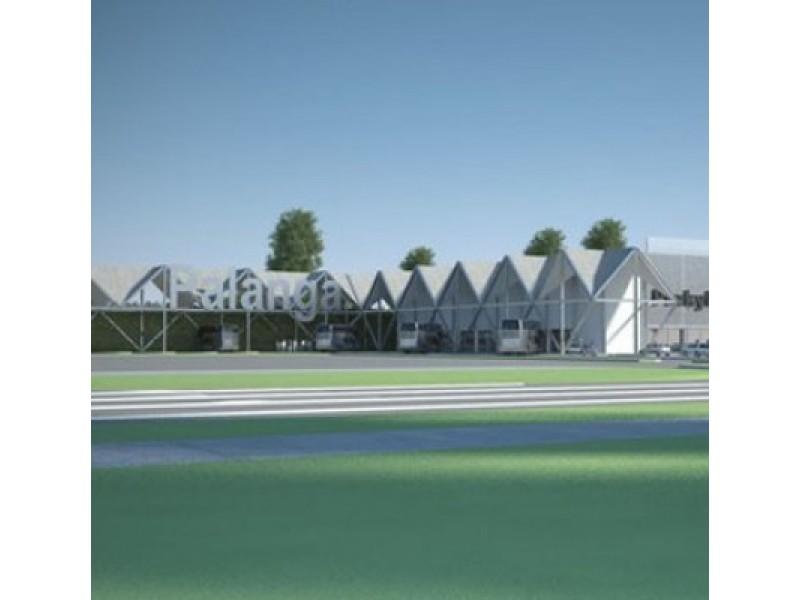 Naujosios Palangos autobusų stoties statyba jau tapo visai artima.