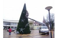 Palangos Kalėdų eglė atkartos jūros mėlį ir žuvėdrų skrydį