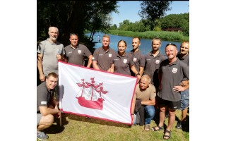 """Šventosios seniūnijos įgula """"Vikingų"""" laivelių varžybose liko po nugalėtojų"""