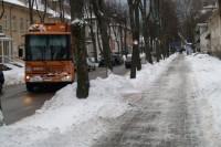 Įsismaginusi žiema šokdina komunalininkus iš patalų vos po vidurnakčio