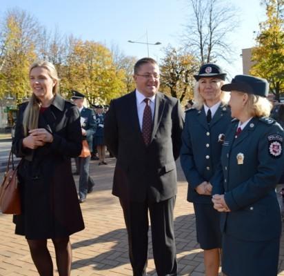 Policijos dienos proga – apdovanojimai pareigūnams