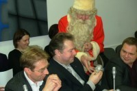 Kalėdų Senelis Tarybos nariams linkėjo dirbti ne sau, o palangiškiams