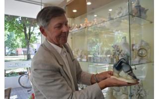 Apie suvenyrinių balandžių muziejų svajojantis Reinoldas jau žengė tvirtą žingsnį