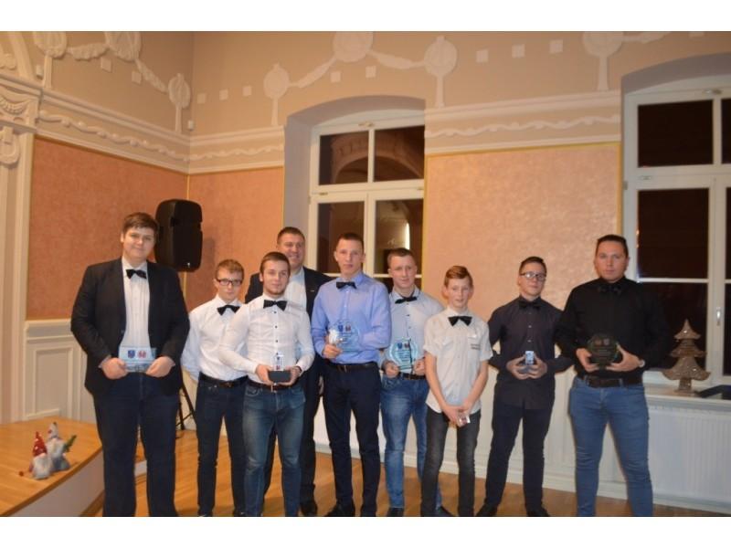 Apdovanoti geriausi Palangos sportininkai
