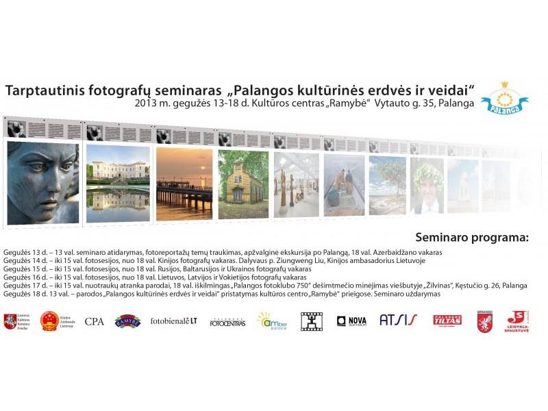 Kultūros sostinę Palangą nuotraukose fiksuos aštuonių šalių fotomenininkai
