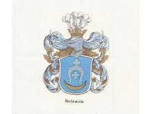 """Ramanauskų herbas """"Bozawola""""."""