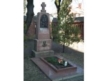 K. Prapuolenio kapas Palangos bažnyčios šventoriuje 2013 m.