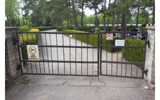 Supykdė vaizdelis Palangos kapinėse: gal jau laikas imtis rimtesnių veiksmų?