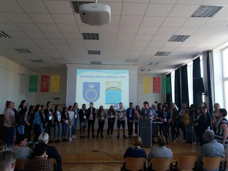 Palangoje svečiuojasi miesto-partnerio iš Izraelio kurorto Eilato mokiniai
