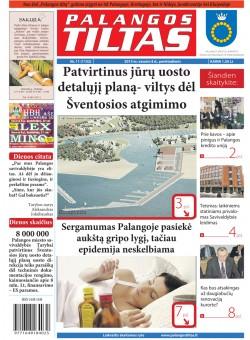 Palangos tilto laikraštis, Data: 2013-02-07, Numeris: 11 (1152)
