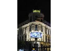 . Išradingumui ribų nėra - vienas iš Madrido teatrų fasadų