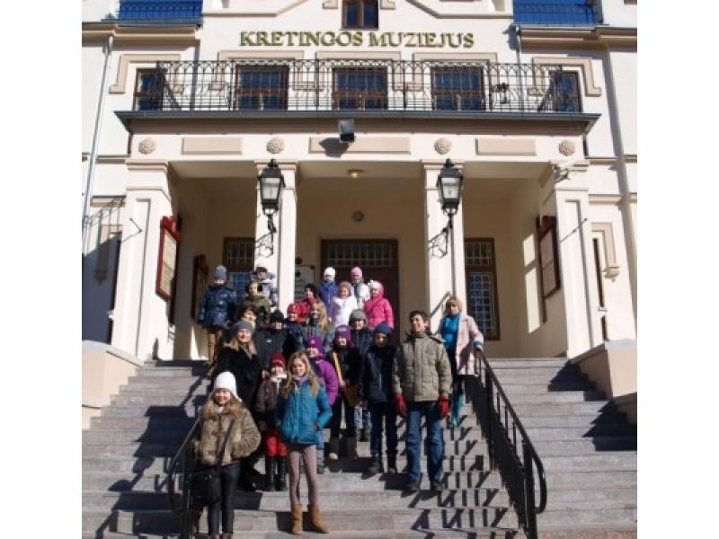 Moksleivių klubo narių išvyka į Kretingą