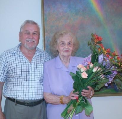Atlaikę visus likimo išbandymus, J. Mureika ir J. Ulinauskaitė Mureikienė kartu jau 56 metus.