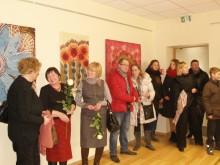 Į parodos atidarymą susirinko gausus būrys palangiškių.
