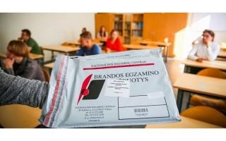 Brandos egzaminus šiemet laikys 94  Palangos senosios gimnazijos abiturientai
