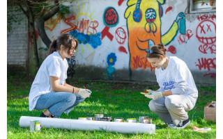 """Palangos atvira jaunimo erdvė """"Be stogo"""" buria jaunimą – veiklų daug ir įvairių"""