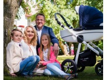 Šarūnui Vaitkui brangiausias turtas - šeima