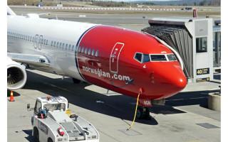 """""""Norwegian Air Shuttle"""" atnaujino skrydžius tarp Palangos ir Oslo"""