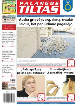 Palangos tilto laikraštis, Data: 2011-11-28, Numeris: 91(1035)