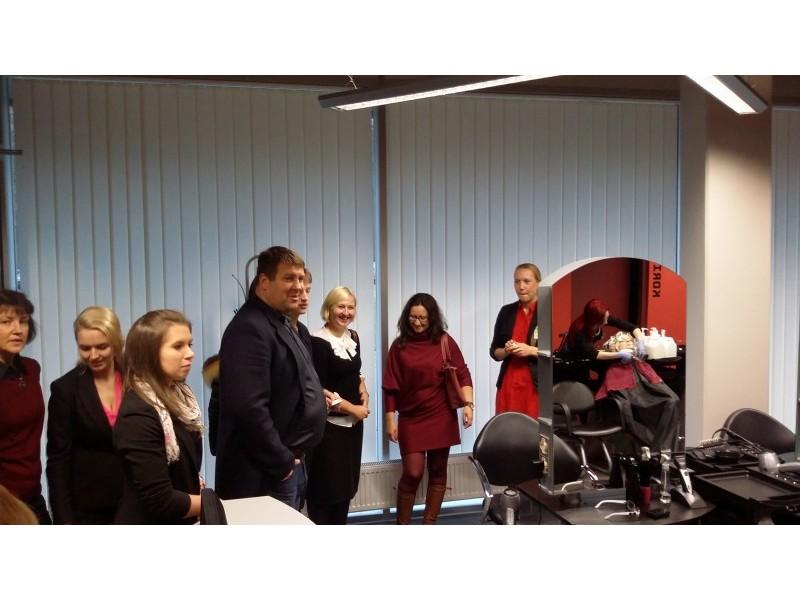 Palangiškiai lankėsi Estijoje- aptarė jaunimo bendradarbiavimo galimybes