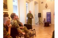 NATO atstovai Palangoje: svarbu ne tik kariauti, bet ir bendrauti su visuomene