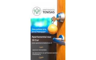 Apartamentai Palangoje prie jūros - nuo 30 Eur!
