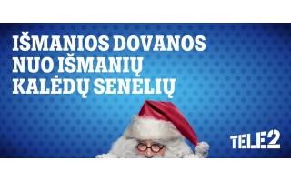 """Šventinės """"Tele2"""" nuolaidos: išmanių kalėdinių dovanų gidas"""