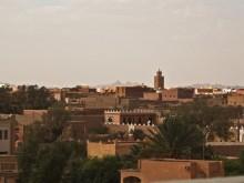 Vaizdas iš terasos ant viešbučio stogo.