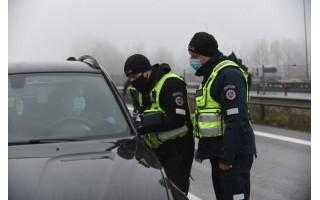 Palangos postuose šeštadienį buvo patikrinti 1243 automobiliai, sekmadienį – 1578 automobiliai