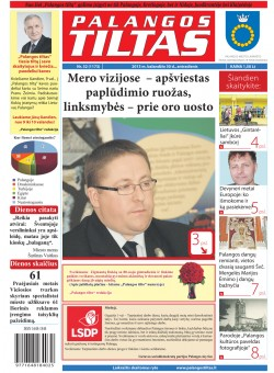 Palangos tilto laikraštis, Data: 2013-04-29, Numeris: 32 (1173)