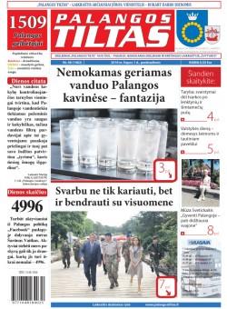 Palangos tilto laikraštis, Data: 2016-06-30, Numeris: 48(1480)