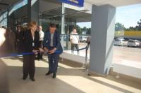 Atidarytas naujas Palangos oro uosto keleivių terminalas