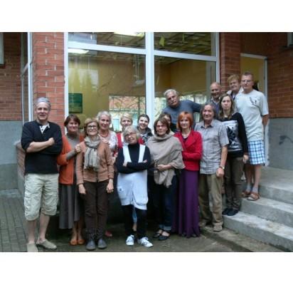 Devintojo plenero dalyviai savo kūrinius pristatys sekmadienį, rugpjūčio 24 d., 15 val. Šventosios galerijoje.