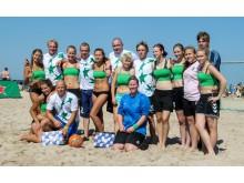 """Moterys už futbolą"" ir ""Heineken Dream team""."