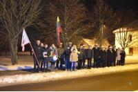 Šventojoje paminėta Laisvės gynėjų diena