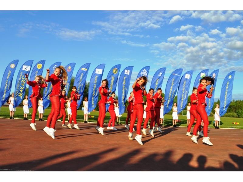 """Palangoje savaitgalį įvyko jau dvidešimtasis festivalis """"Sportas visiems""""."""