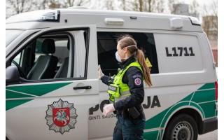 Už karantino reikalavimų pažeidimus 6 asmenys savaitgalį gavo po 250 eurų baudą